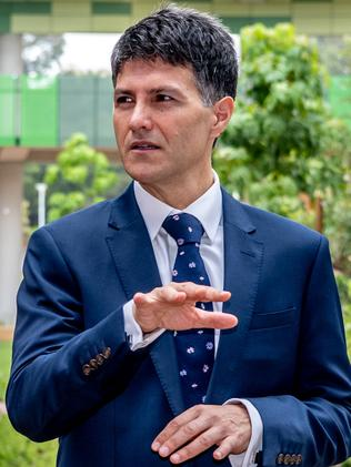 Local MP Victor Dominello wants to renegotiate a deal with Meriton. Picture: Monique Harmer