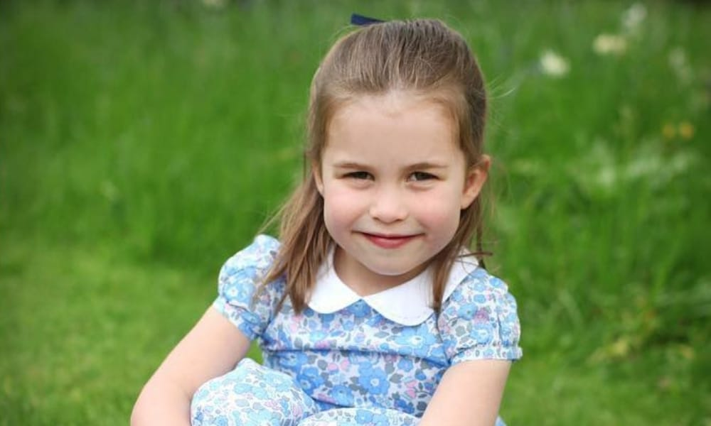 Princess Charlotte is 4 and adorable in new pics