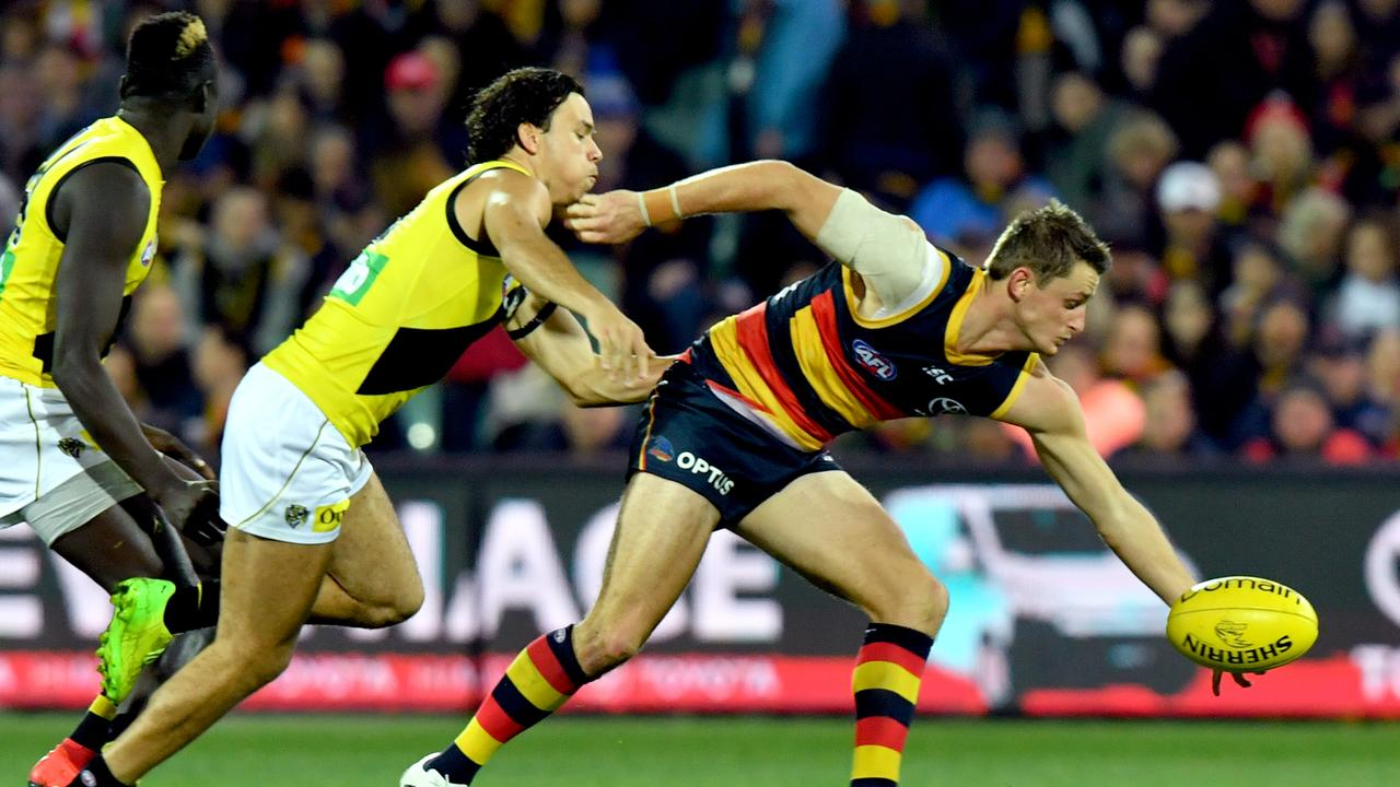 Matt Crouch of the Crows could be a perfect pick if you have a late second round pick