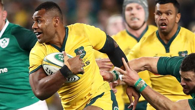 Samu Kerevi has been ruled out for the rest of the domestic and, more than likely, the international season as well. (Photo by Mark Kolbe/Getty Images)