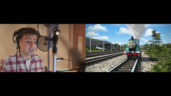 Behind the scenes on Thomas and Friends: The Great Race