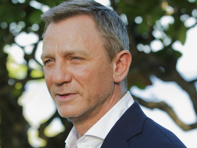 Actor Daniel Craig is getting ready for the release of the 25th Bond movie. Picture: AP