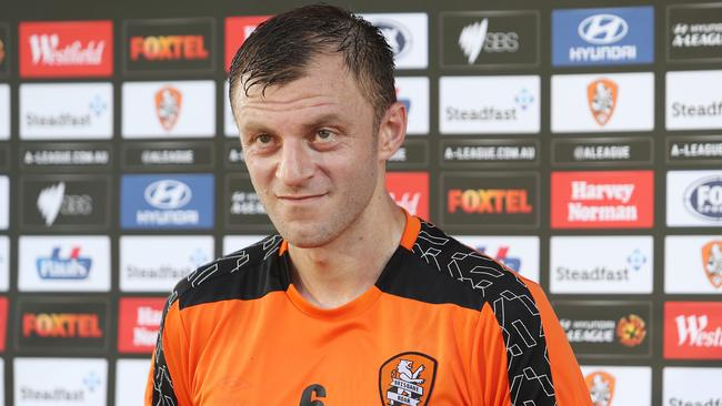 Brisbane Roar defender Avraam Papadopoulos is out for the season.