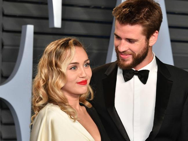 Cyrus and Hemsworth's split blindsided fans. Picture: Dia Dipasupil/Getty Images/AFP