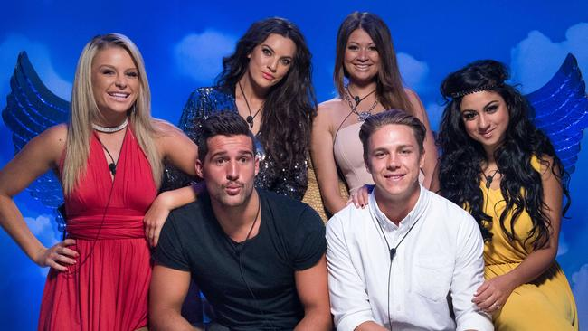 FINAL WEEK ... six housemates saw out the last days of Big Brother, before a mega eviction on Tuesday left three finalists. Picture: Supplied
