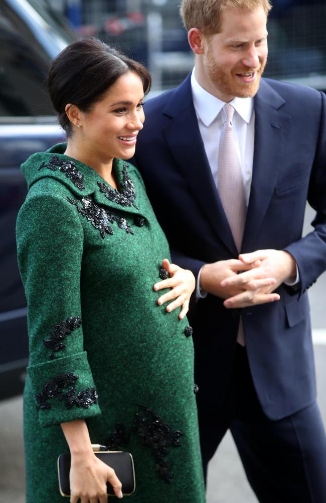 Meghan and Harry are now proud parents. Picture: Getty