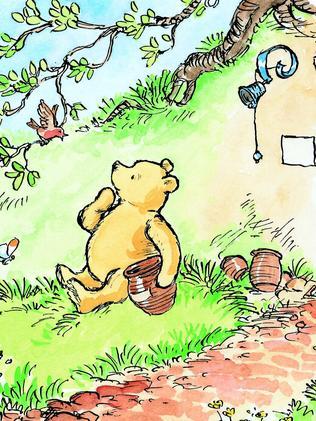 Winnie the Pooh ...a pant-less hermaphrodite? Photo: Supplied
