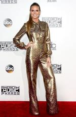 Heidi Klum attends the 2016 American Music Awards at Microsoft Theater on November 20, 2016 in Los Angeles, California. Picture: Getty