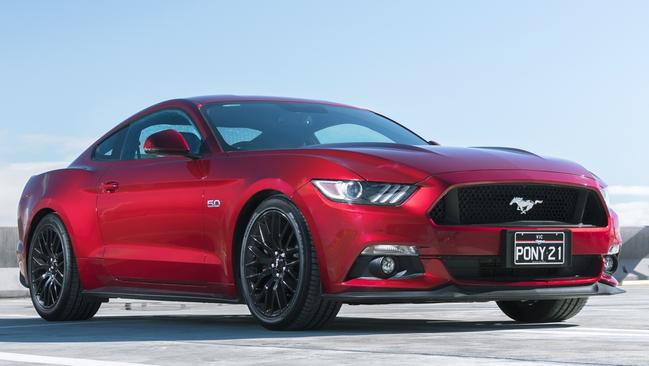 Even the Ford Mustang V8 has had a fire related recall notice. Picture: Supplied.