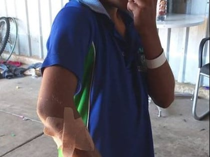 A nine-year-old boy was allegedly deprived of his liberty and assaulted at an IGA in Perth.