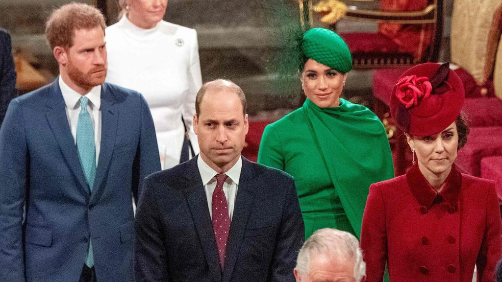 Meghan Markle has not been in the UK since her final engagement as a senior royal at the annual Commonwealth Service at Westminster Abbey in March last year. Picture: Phil Harris/POOL/AFP