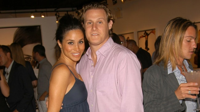 Meghan and Trevor in 2006 Photo: Getty
