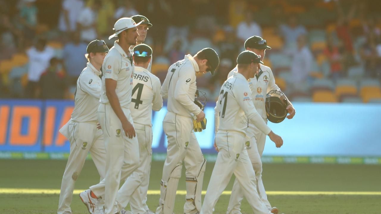 Australia lost the seemingly unlosable Test.