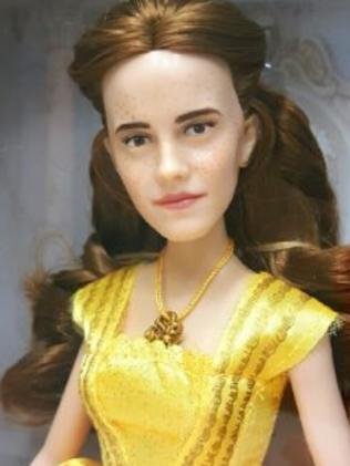 The new Belle doll, which should look like Emma Watson. Picture: Flickr/ozthegreatandpowerful.