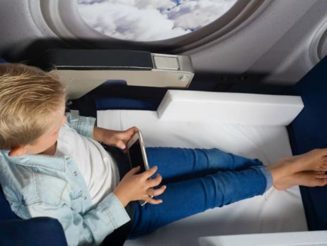Don't get used to this, kid. Picture: JetKids BedBox