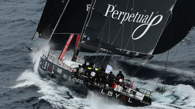 Perpetual Loyal during the first day of the race in 2015.