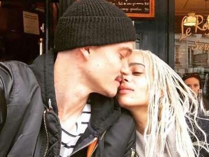 Zoe Kravitz has secretly married boyfriend Karl Glusman. Picture: Instagram