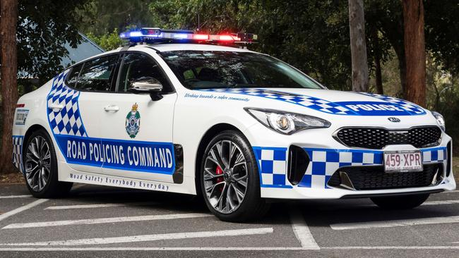 The Kia Stinger is already in use by the Queensland Police Force.