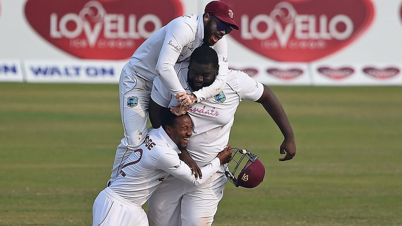 The West Indies win again.