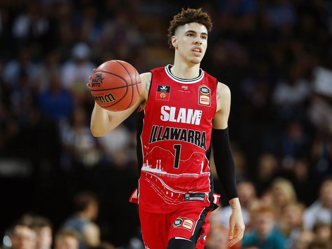 LaMelo Ball and the Hawks are digging deep to help bushfire victims. Picture: Anthony Au-Yeung/Getty Images