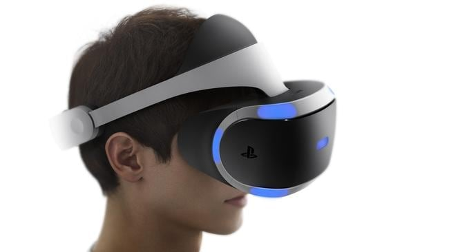 Sony's PlayStation VR prototype. Picture: supplied