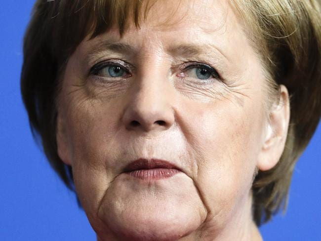 German Chancellor Angela Merkel is facing a crisis in her coalition.
