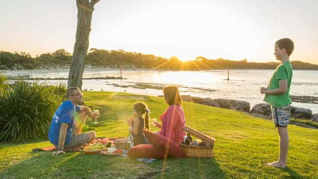 Enjoy a picnic and a view of the sun on the south coast. Picture: DNSW