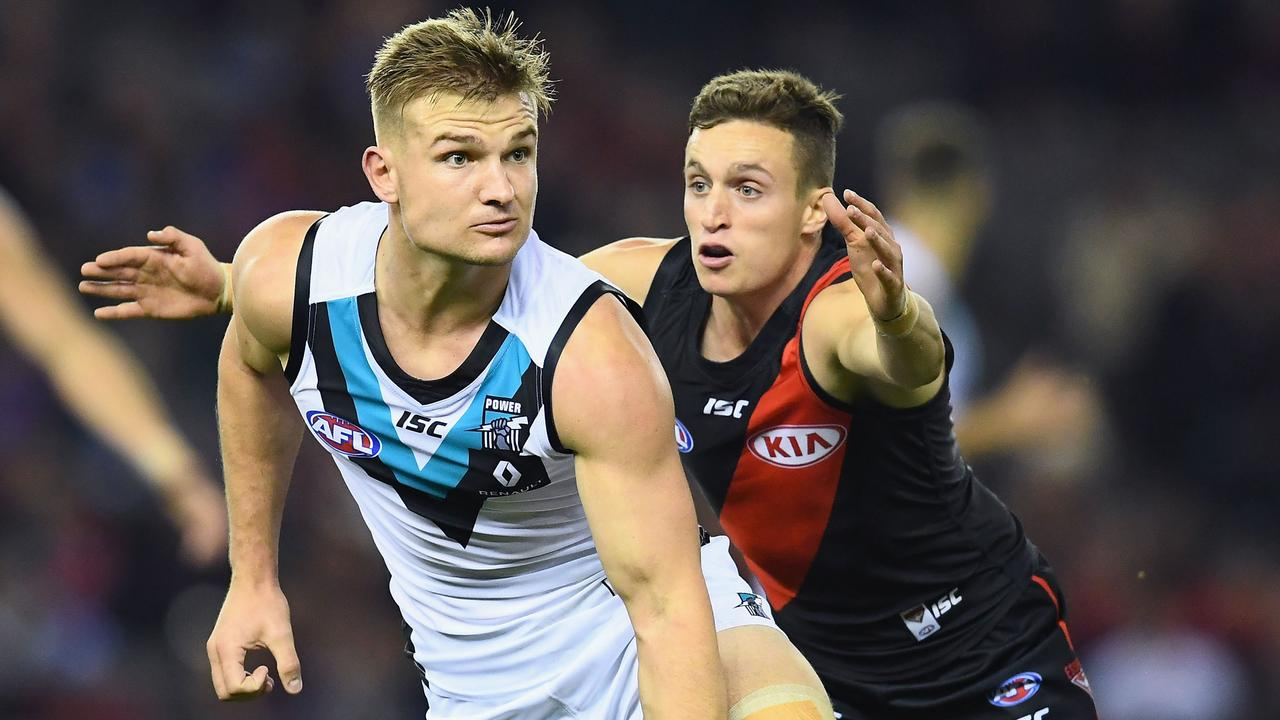 Port Adelaide is expected to keep Ollie Wines and opt against another bid for Orazio Fantasia. (Photo by Quinn Rooney/Getty Images)