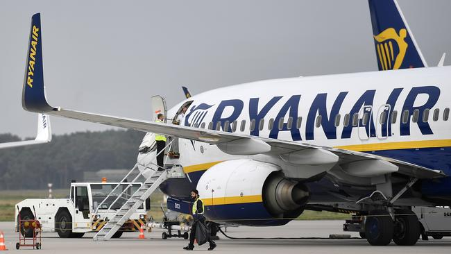 The Commercial Court in Spain called out Ryanair's baggage fees. Picture: AP/Martin Meissner