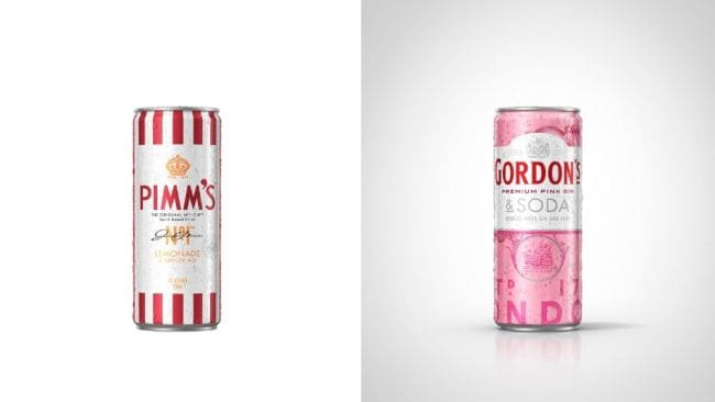 We'd buy these for the cans alone. Image: Gordon's