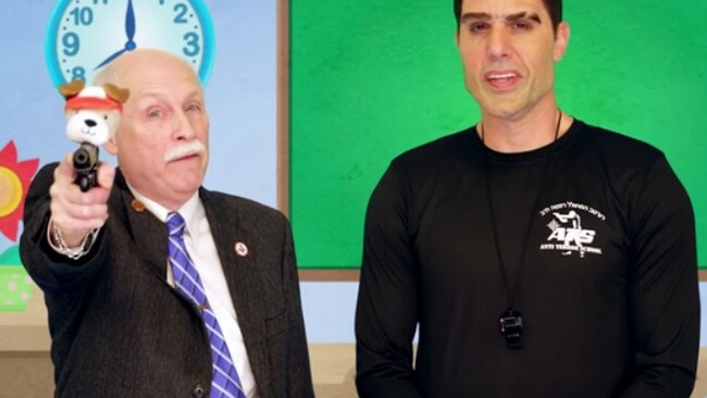Sacha Baron Cohen (right, in disguise) conned many unsuspecting US political figures in the series.
