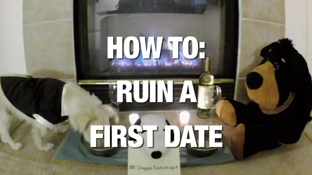 How To: Ruin a First Date... With Four Simple Words! Credit - Various via Storyful
