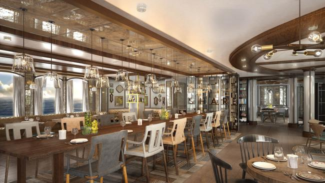 The look of 'Share': the new Curtis Stone culinary experience, soon on board Princess Cruises