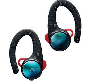 The Plantronics' Backbeat Fit 3100s are aimed at those who don't mind a bit of activewear.