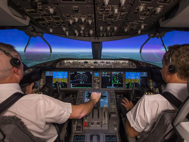 Researchers will track how pilots are coping with the marathon flight. Picture: Supplied