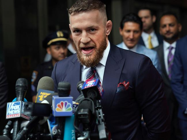 IConor McGregor avoided jail time for his bus attack in Brooklyn.