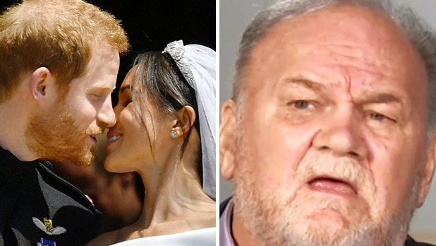 Thomas Markle was not invited to his daughter's wedding to Prince Harry in 2018. Picture: ITV