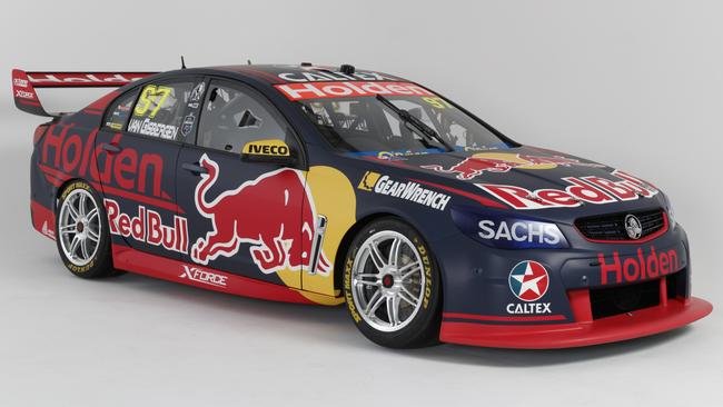 Supercars Live Red Bull Holden Racing Team Livery Reveal