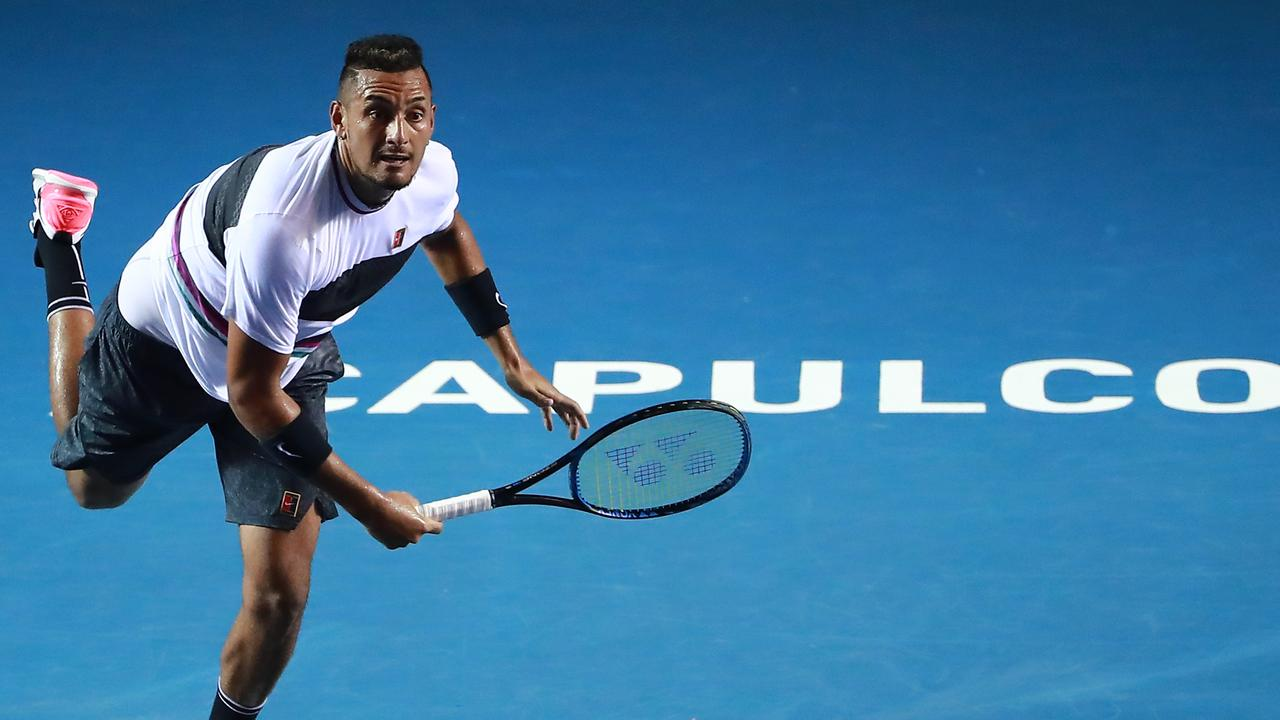 Kyrgios won his fifth singles title.