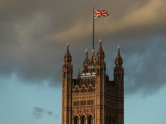 British MPs were due to hold a crucial vote on Tuesday to approve or reject the Brexit deal agreed by Mrs May and EU leaders. Picture: Daniel Leal-Olivas/AFP