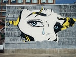 <b>MONTREAL, CANADA: </b>3547 Saint Laurent Boulevard. Artist: D*Face. Picture: HALOPIGG