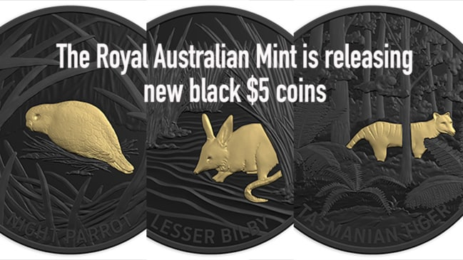 New $5 coins from the Royal Australian Mint