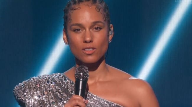 Alicia Keys was visibly heartbroken talking about the tragedy.
