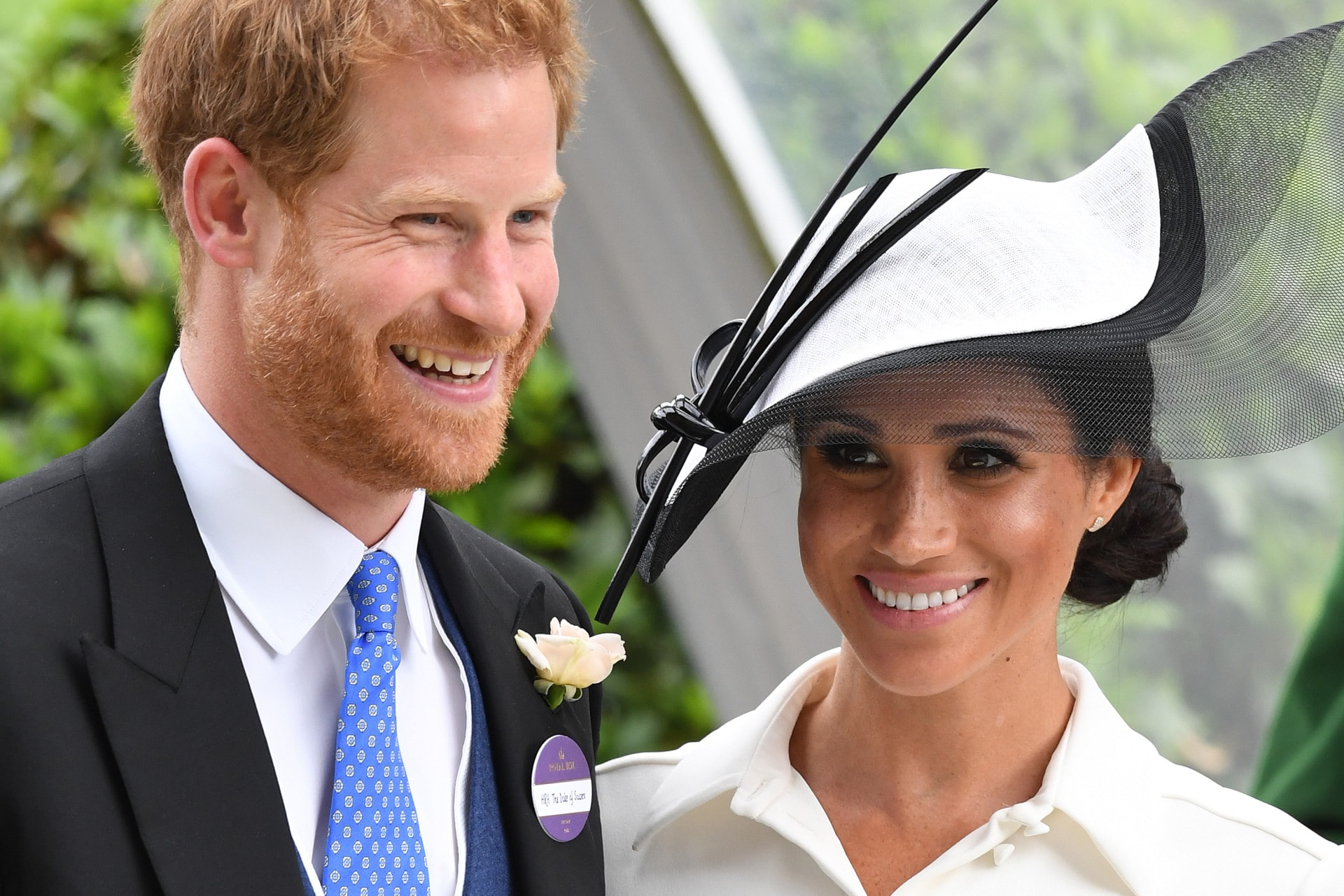 Meghan Markle's devotion to Givenchy reminds us of Kate Middleton's relationship with Alexander McQueen