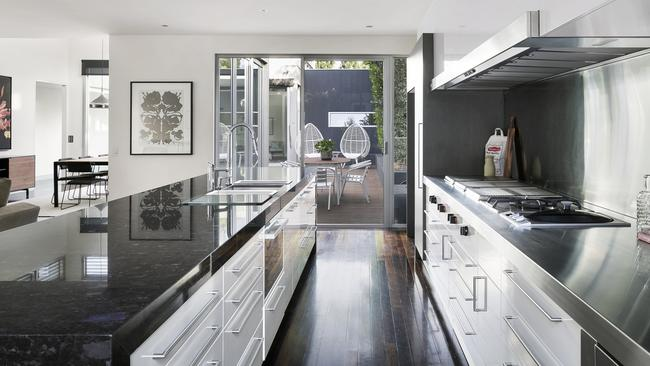 The price achieved by the grand home made it the most expensive house in Fitzroy North.