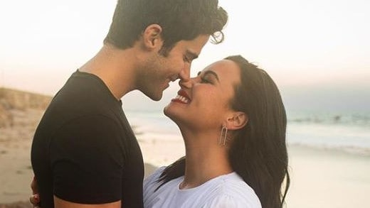 Demi Lovato engaged: Demi engaged to Max Ehrich after five months – NEWS.com.au