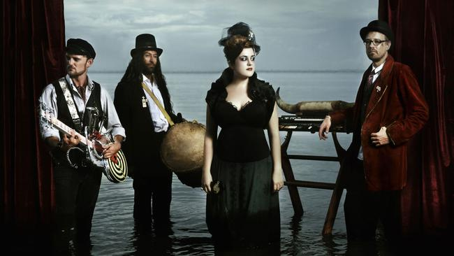 Front lady ... Katie Noonan will front a band again for the first time since The Captains in 2010.