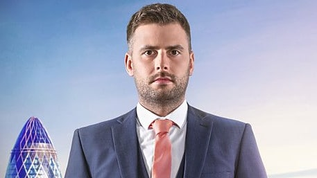 "The Apprentice UK contestant Rick Monk describes himself as a ""wolf in sheep's clothing"". Picture: BBC"