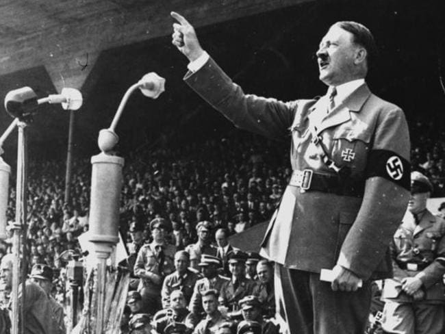 Hitler was a passionate, if disturbing, speaker.
