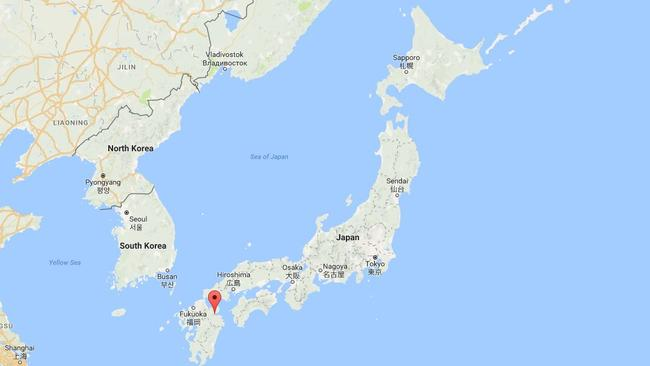 Beppu is located on the southern Japanese island of Kyunshu.